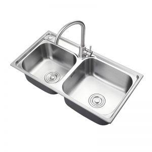EVE-Ivy 304 istainless steel sink doppju installazzjoni essenzjali essenzjali